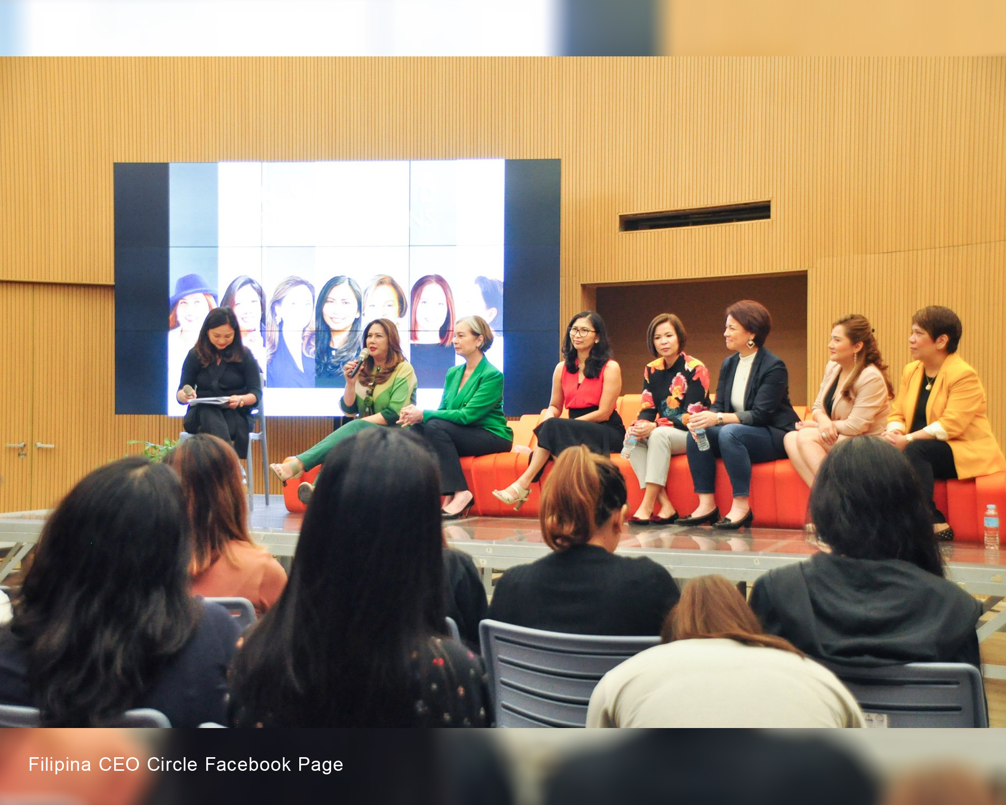 "The Filipina CEO Circle held ""Inspired Conversation"" with MC HEU students"