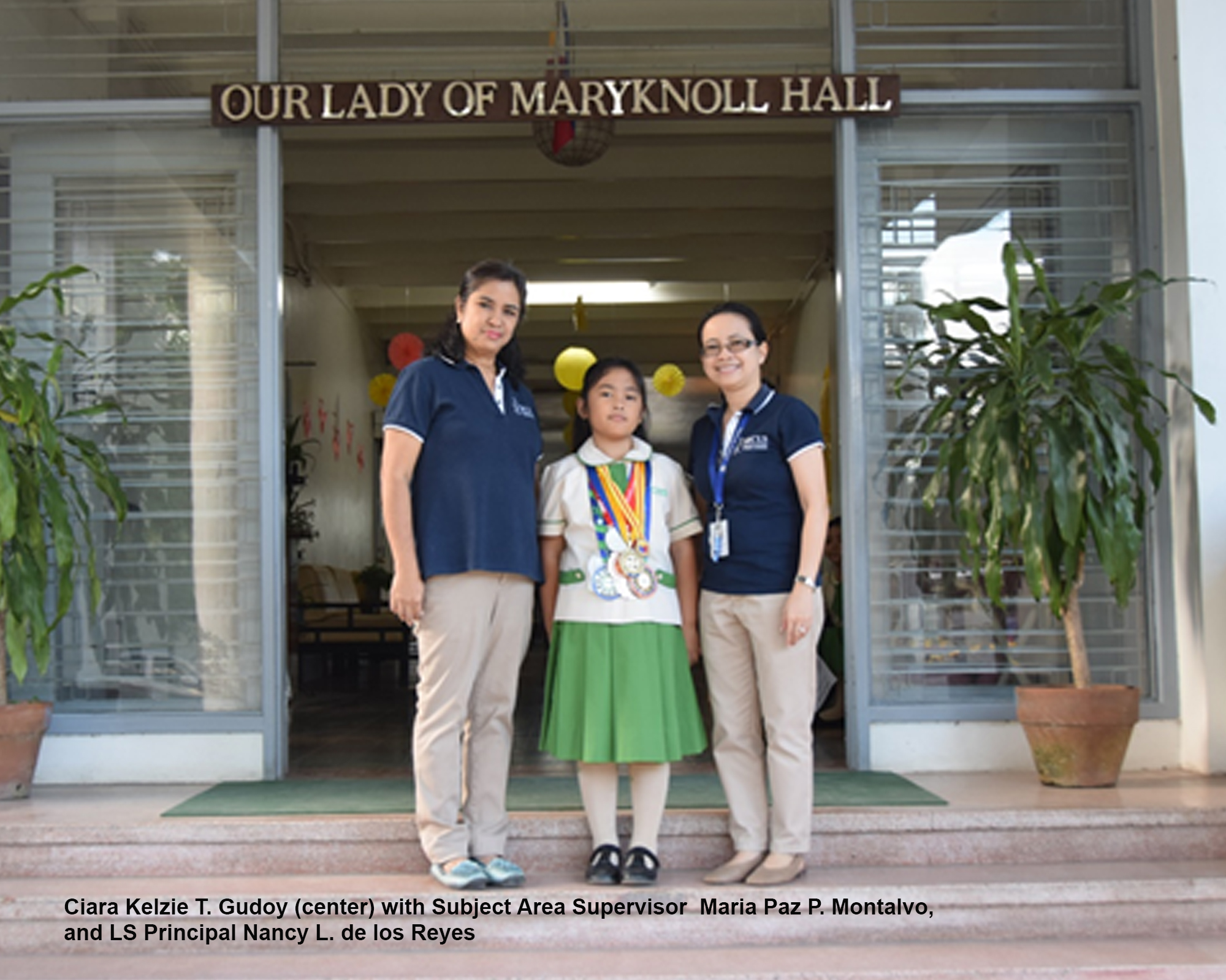 LS science whiz receives Youth Excellence award from DOST-SEI