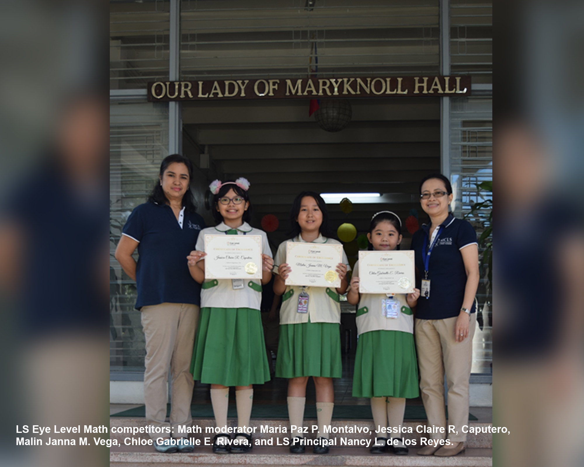 LS students bag honorary badges in Eye Level Math competition