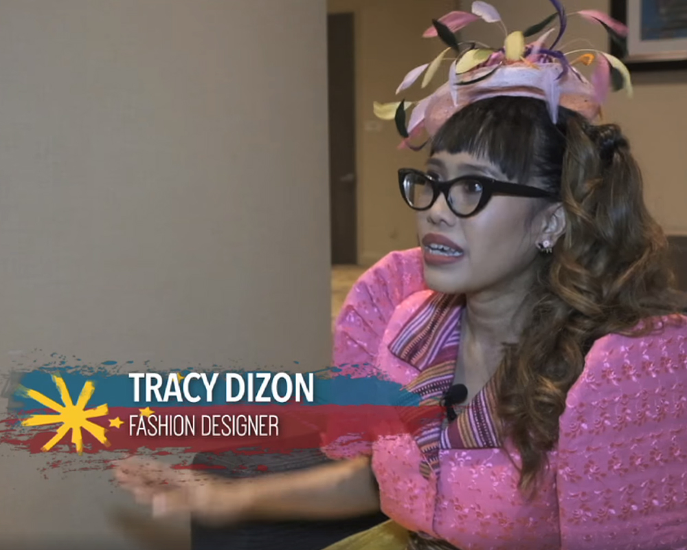 "Tracy Dizon in ""Becoming Pinoy"" 