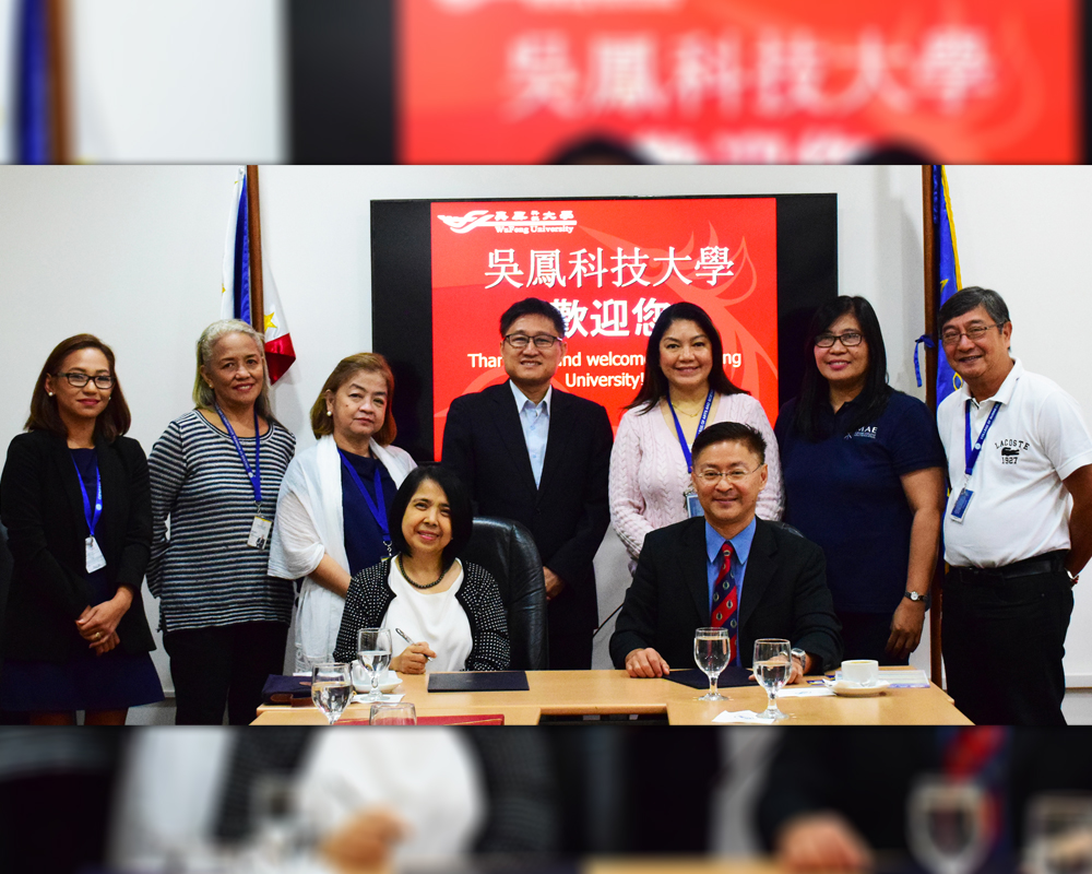 Miriam College partners with Wu Feng University Taiwan