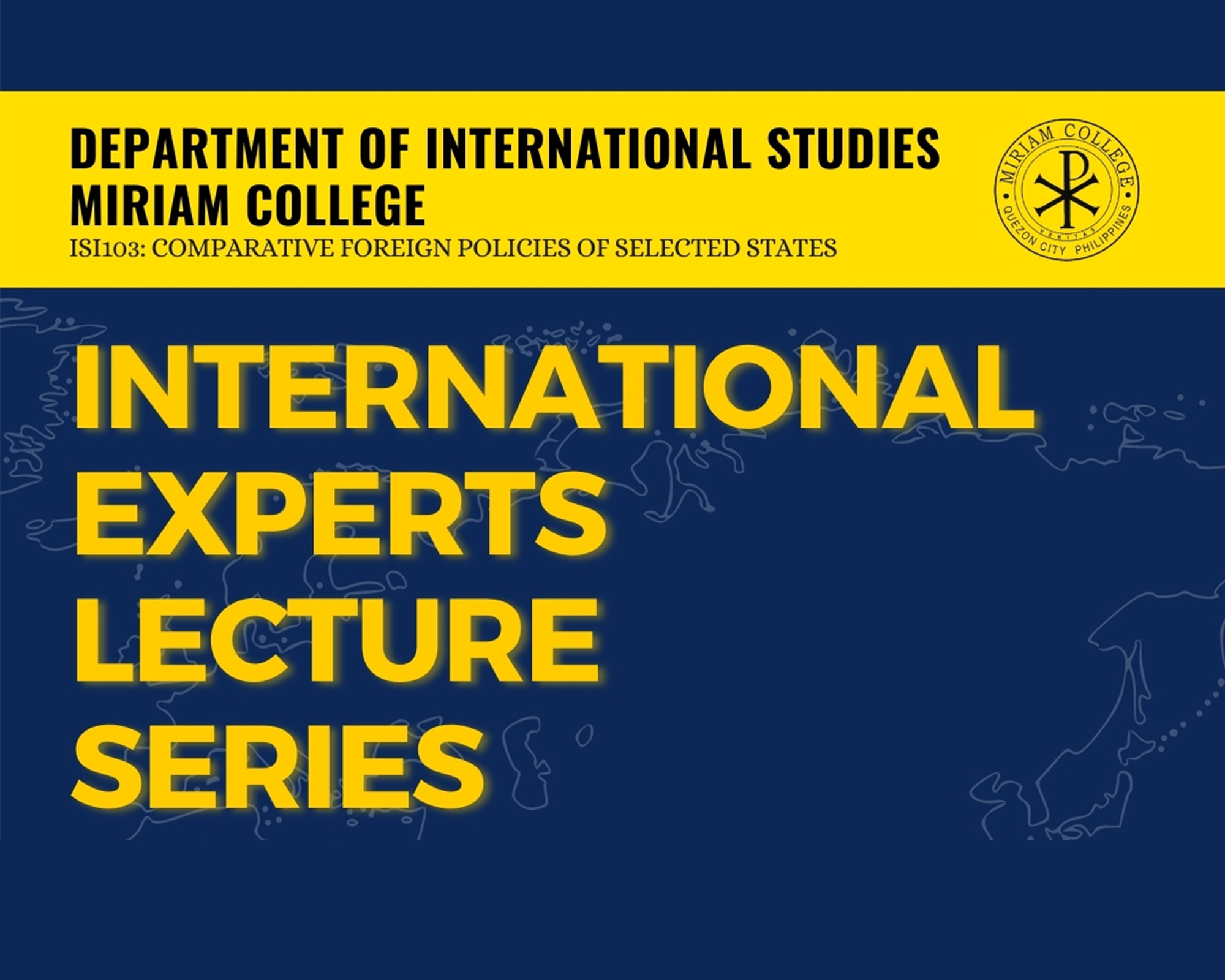 IS Experts Lecture Series (UPDATED)