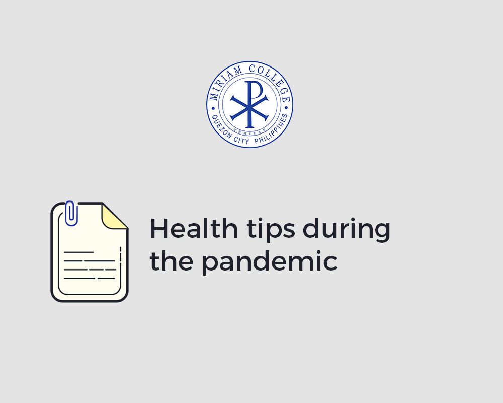 Stay Healthy During the Pandemic