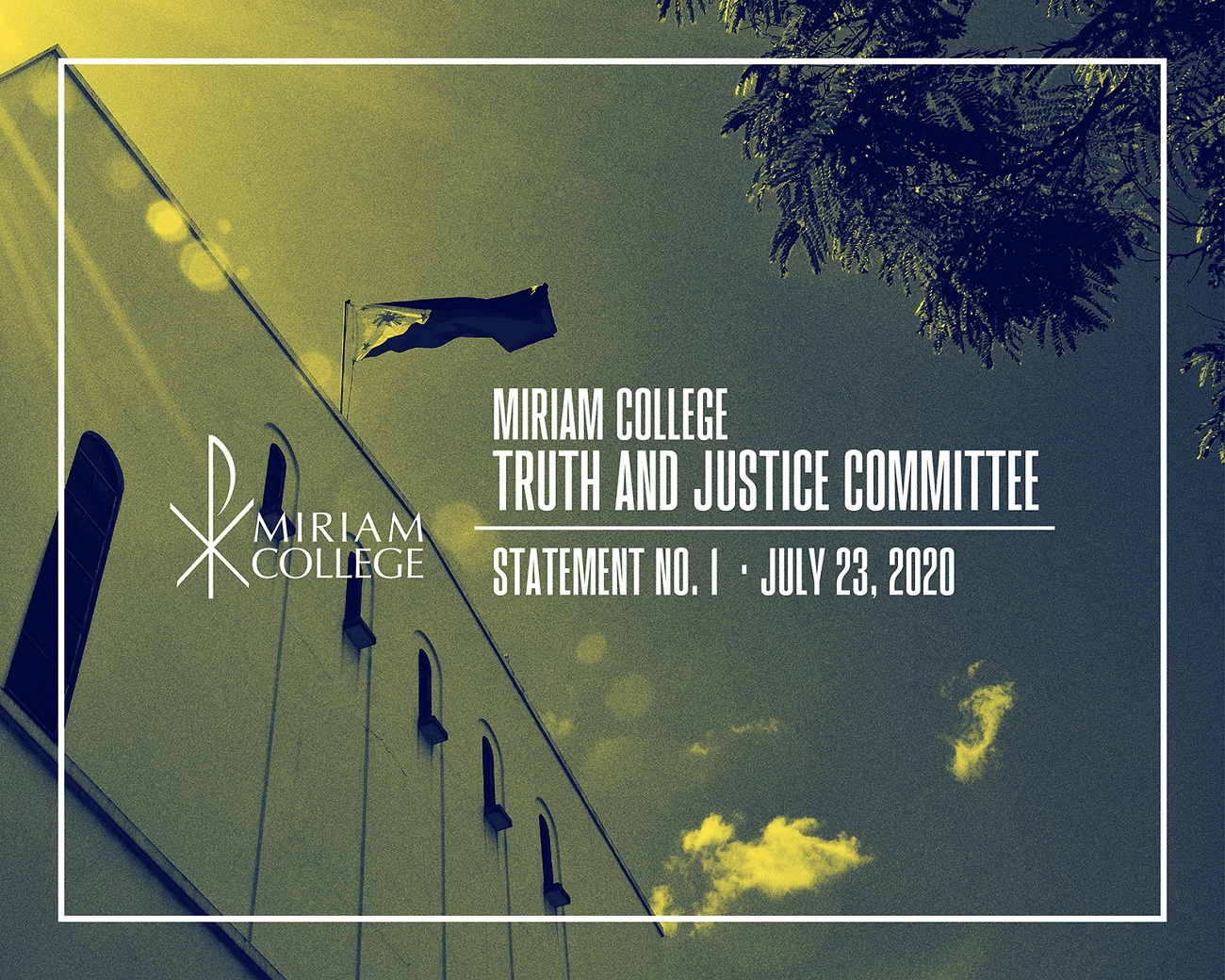 MIRIAM COLLEGE TRUTH AND JUSTICE COMMITTEE | Statement No. 1