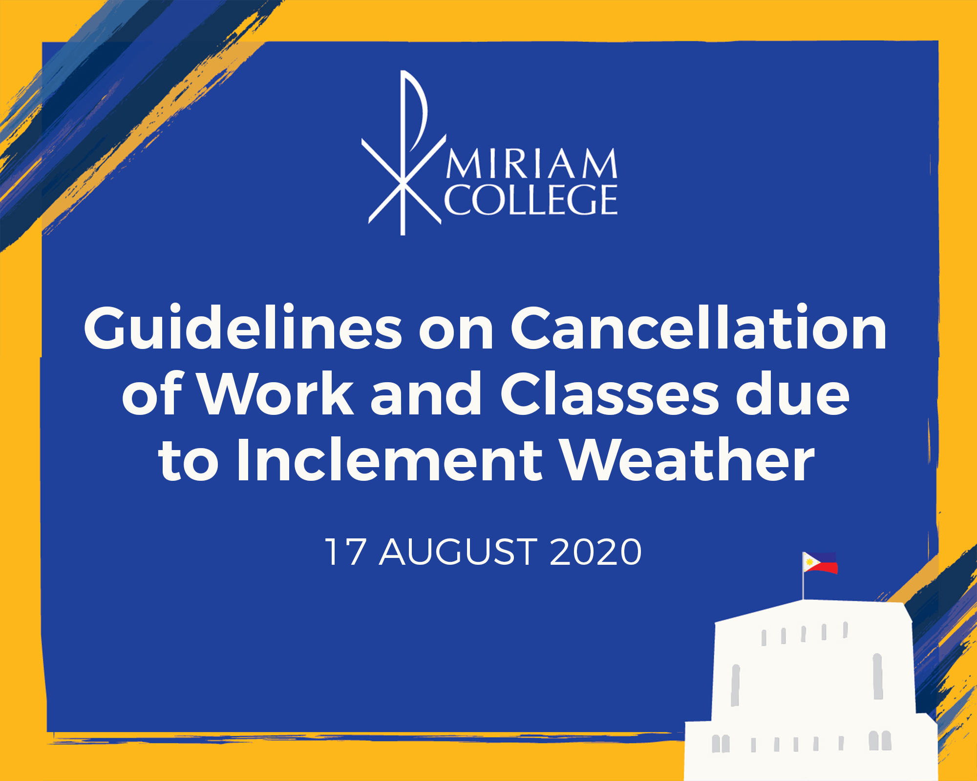 Guidelines on the Cancellation of Classes due to Inclement Weather