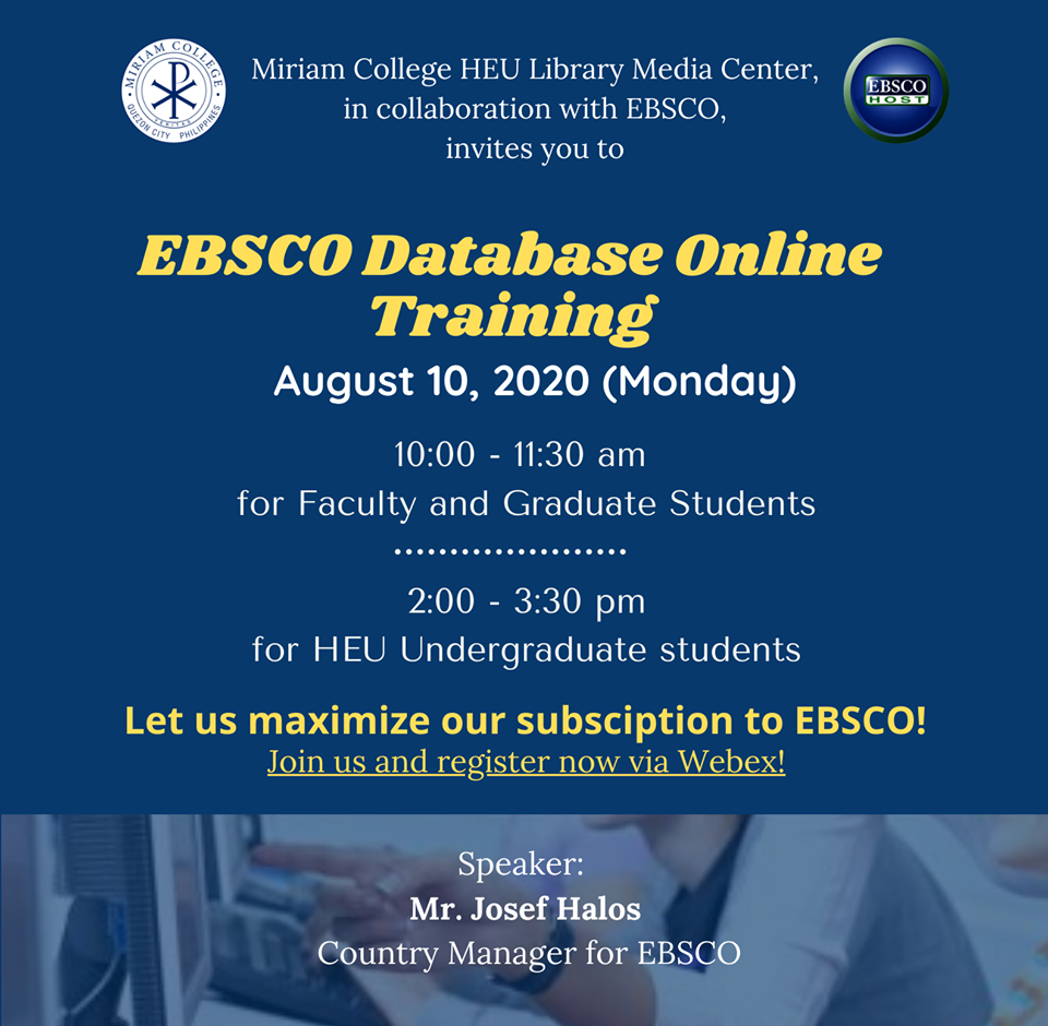 EBSCO Databases Online Training