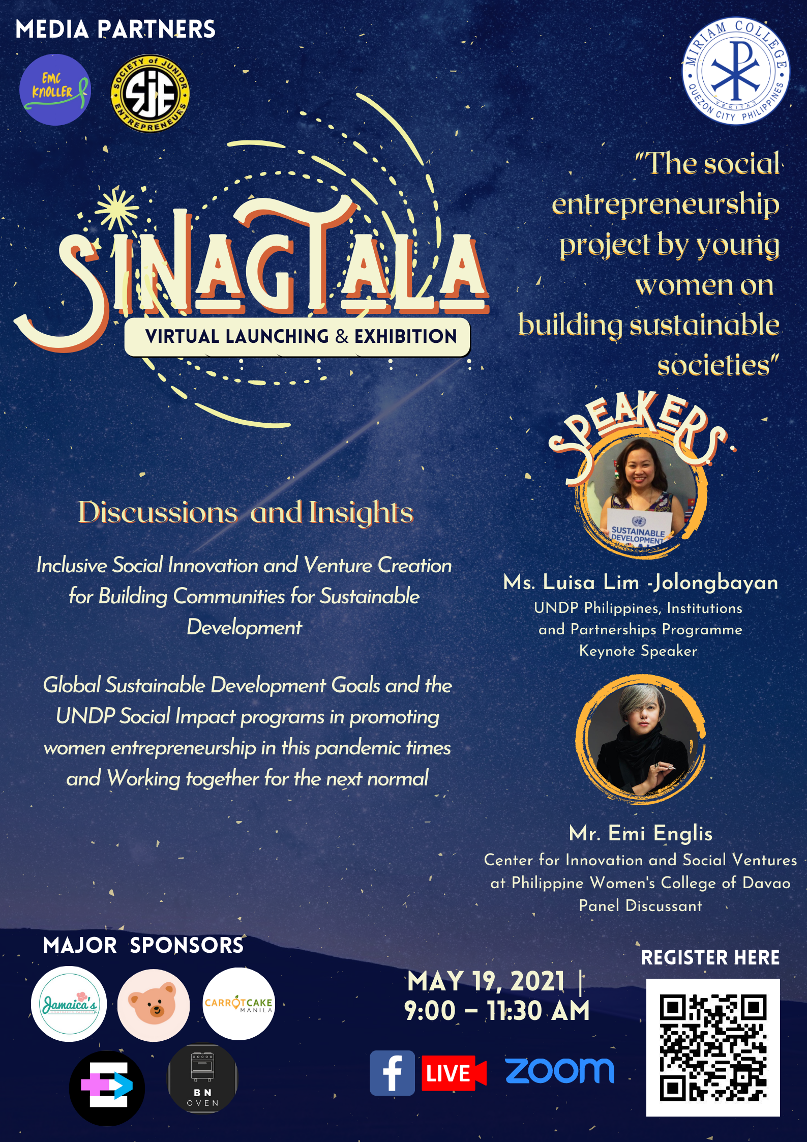 EVENT: SINAGTALA Project