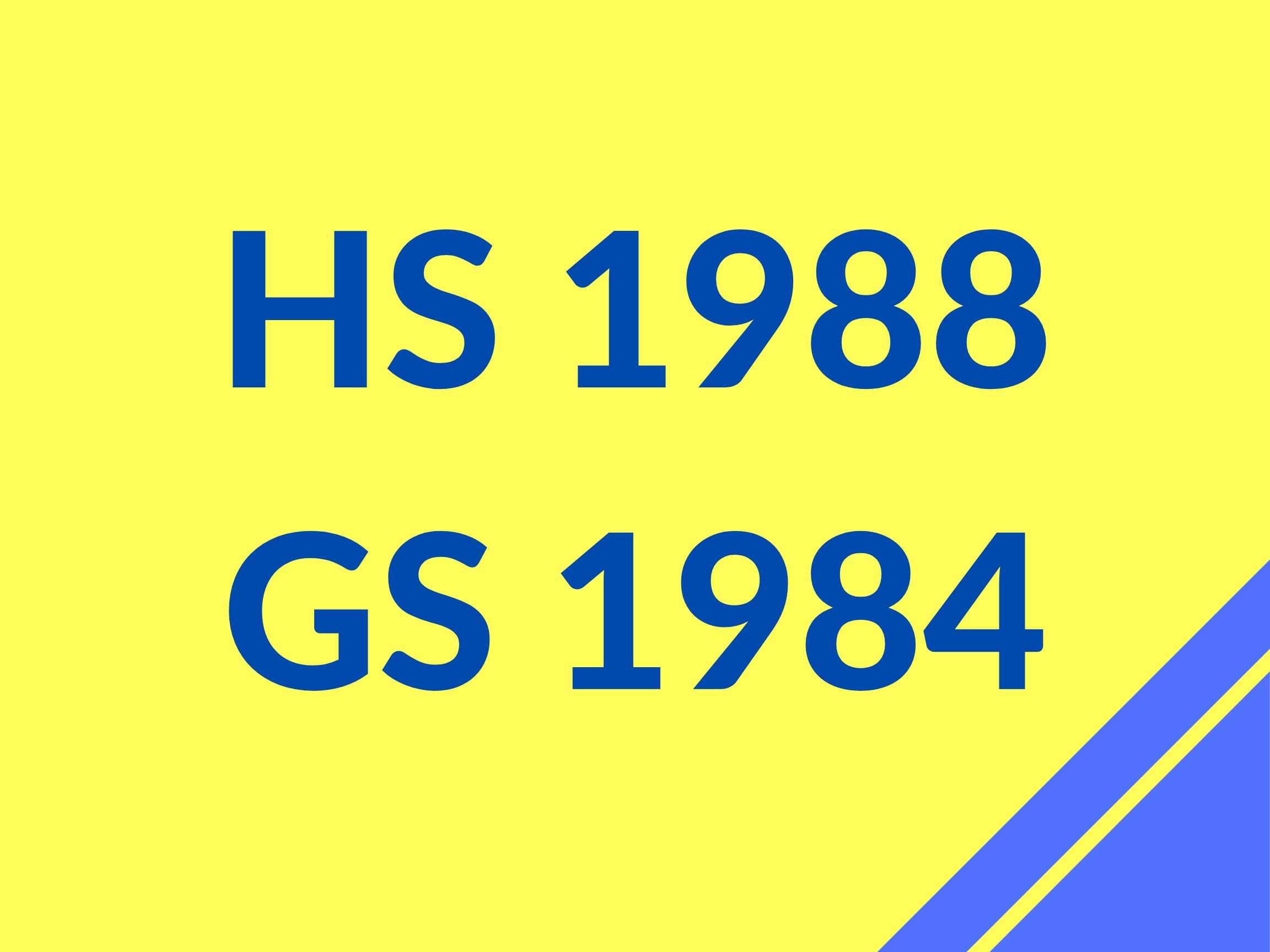 GS 84 HS 88