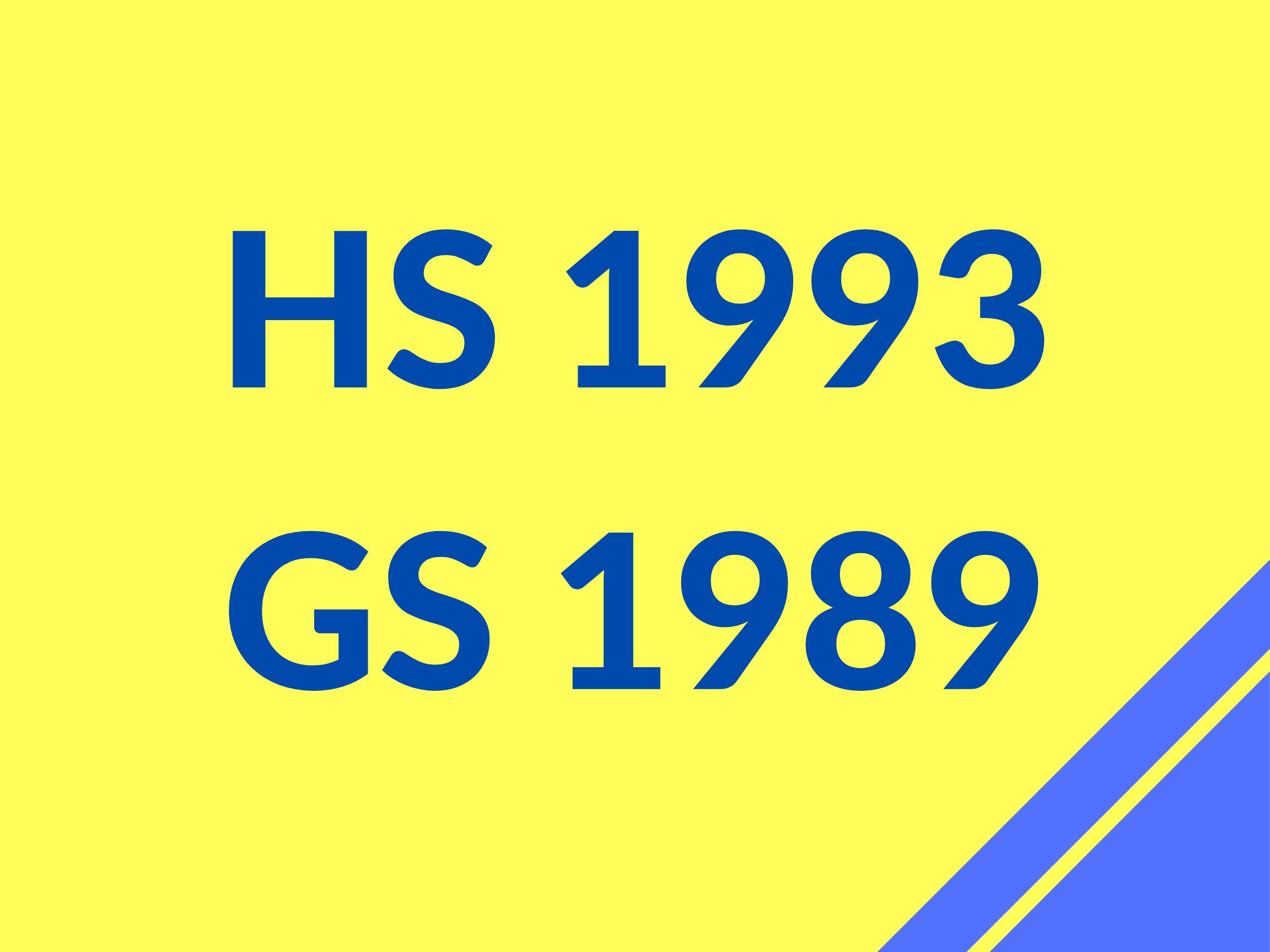 GS 89 HS 93