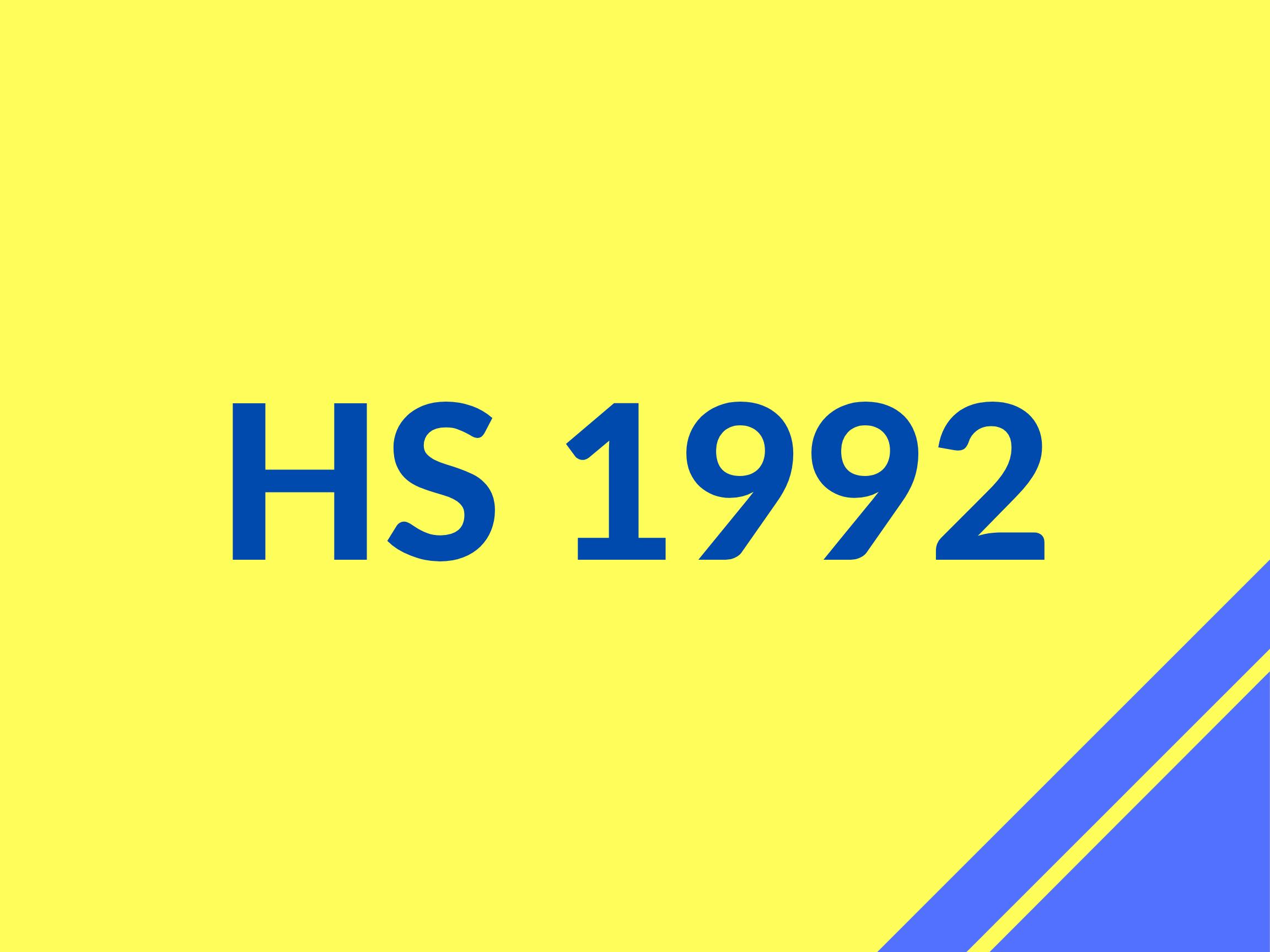 HS 92