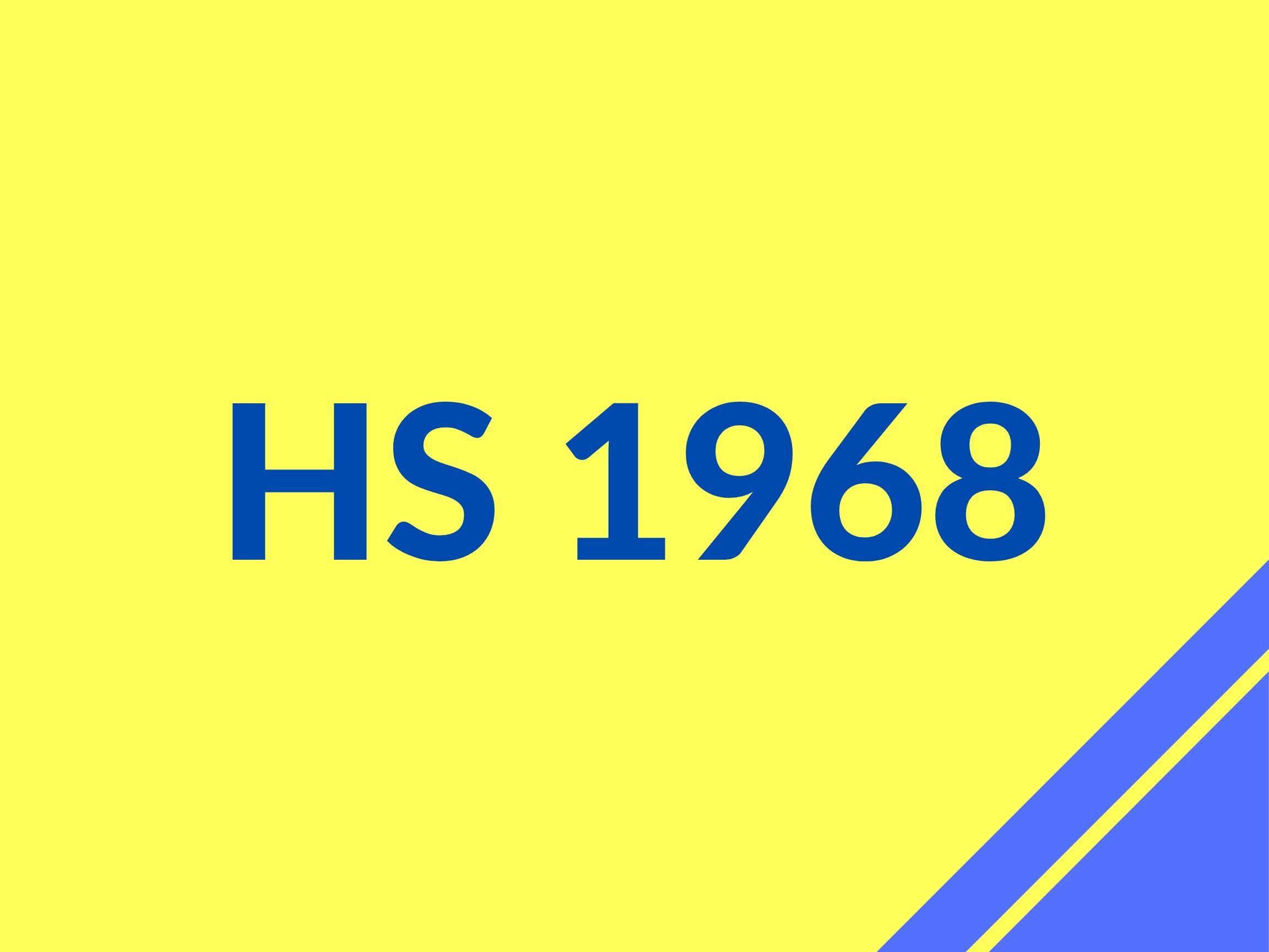 HS 68