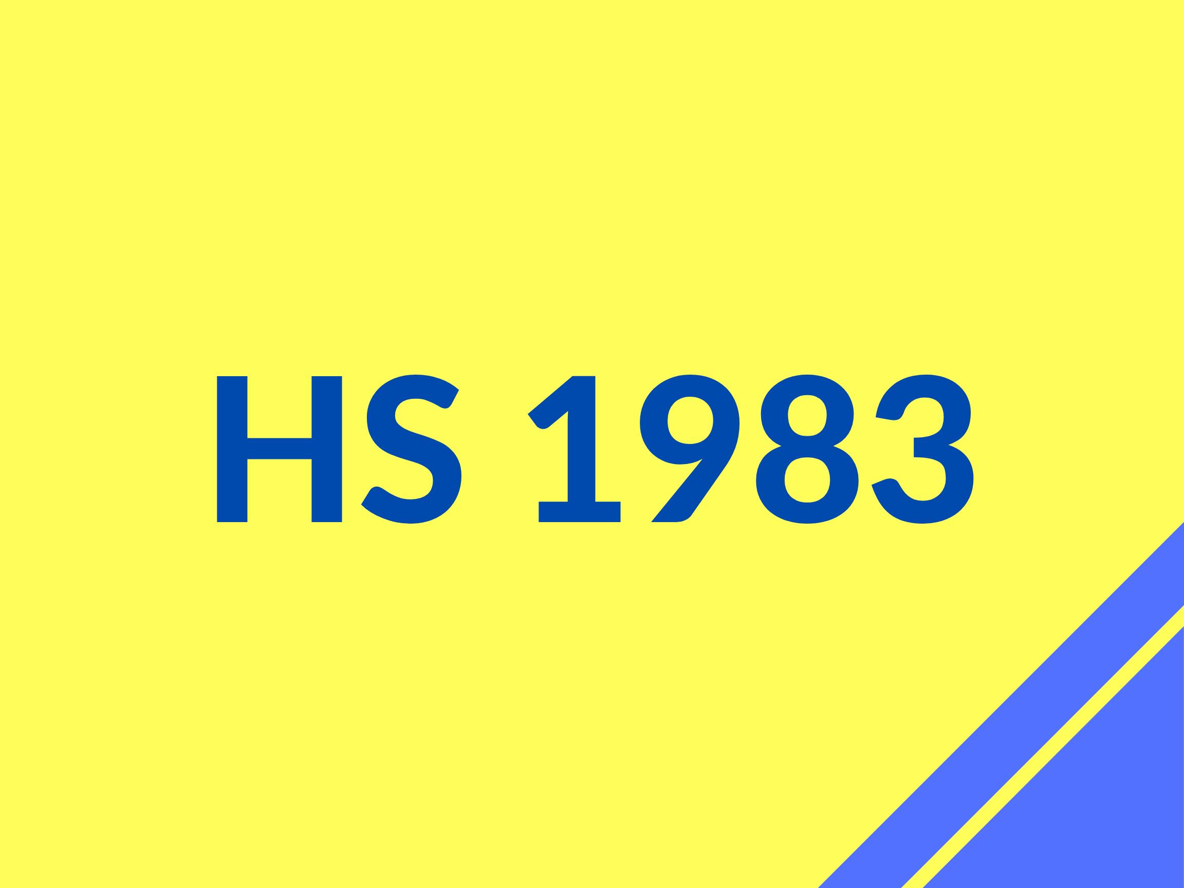 HS 1983