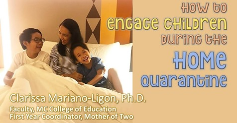 How to Engage Children during the Home Quarantine