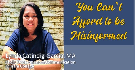 You Can't Afford to be Misinformed