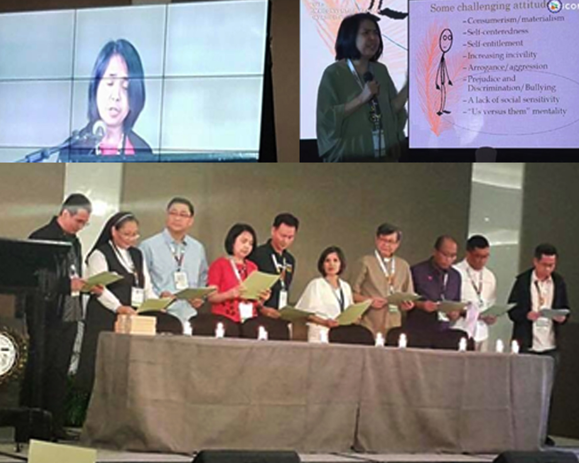 CPE shares perspectives on integral human formation at CEAP convention