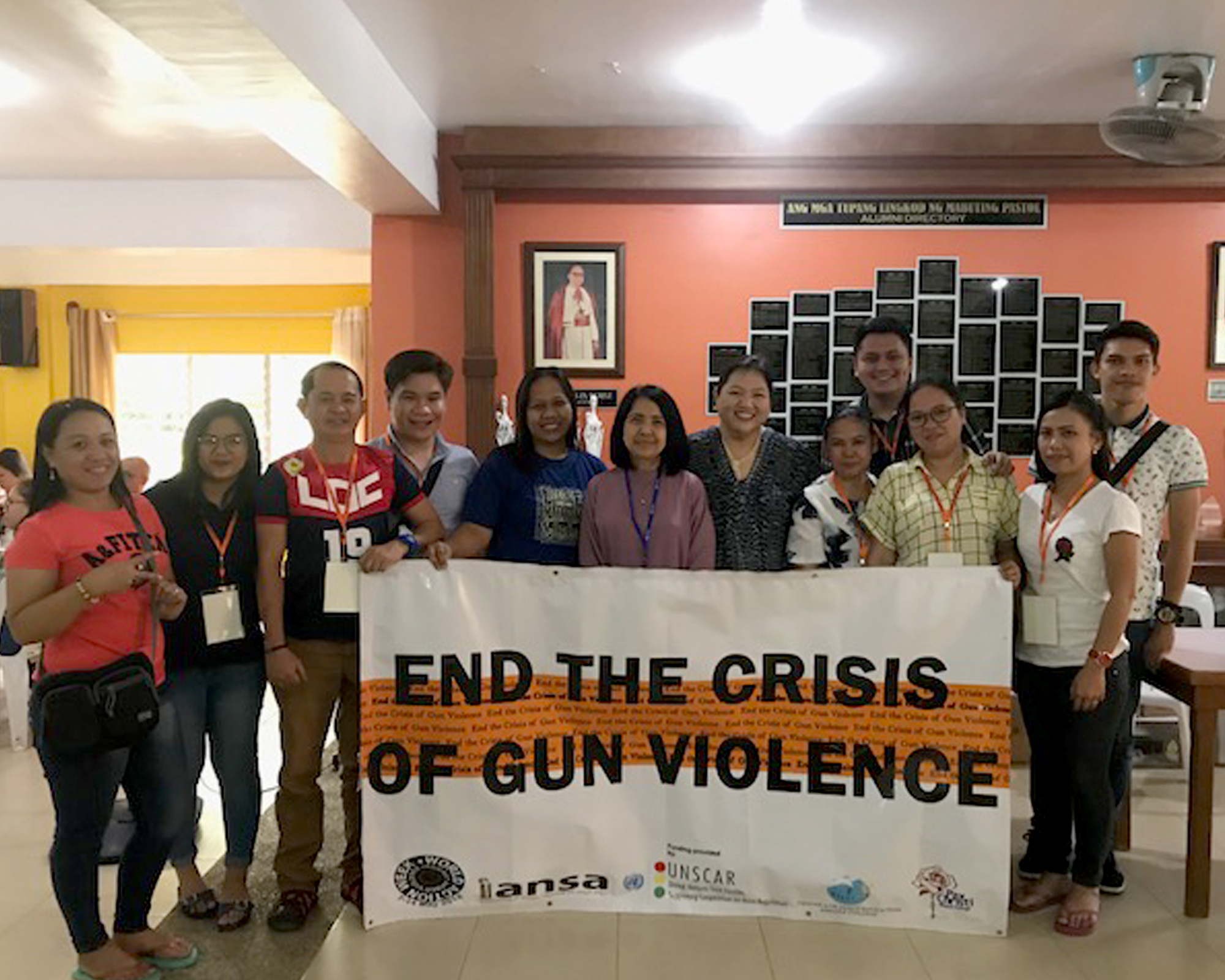 CPE observes Global Week of Action against Gun Violence
